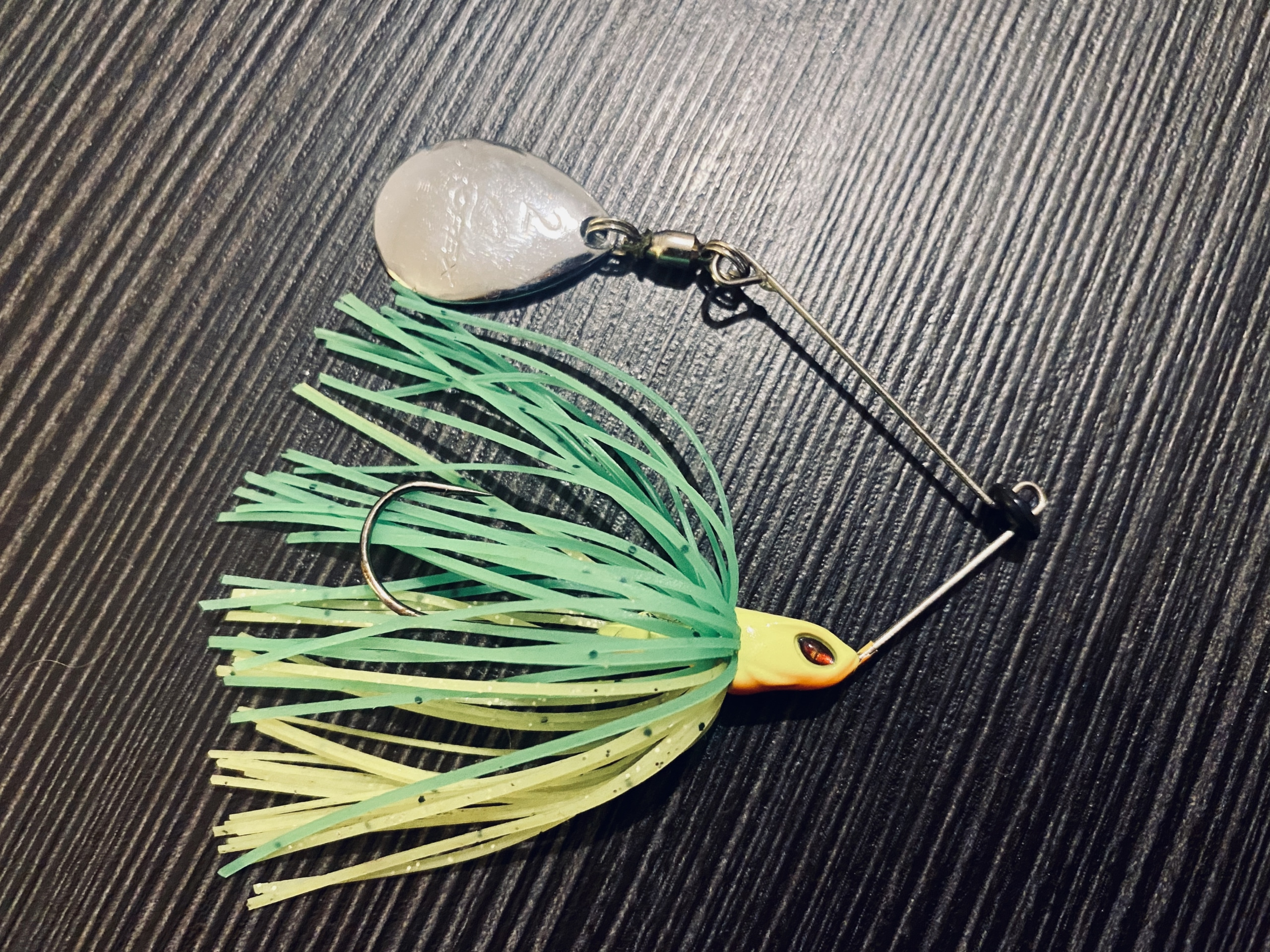 Spinnerbait angehalt
